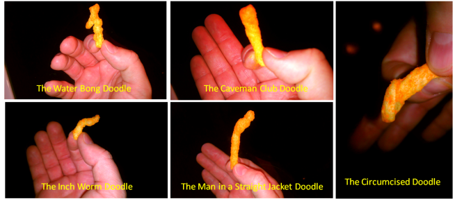 The Infinite Shapes of the Cheese Doodle