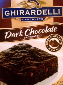 You gotta go with the Ghiradelli, man!