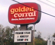 Golden Corral, Tallahassee